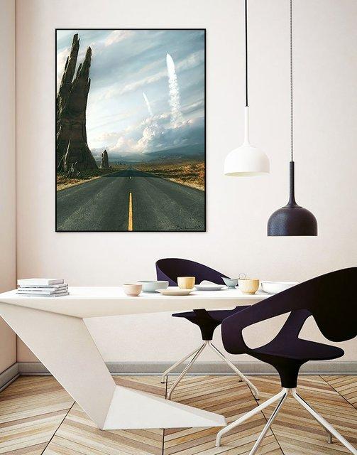Mission ArtBlock Framed Print by Stephane Belin