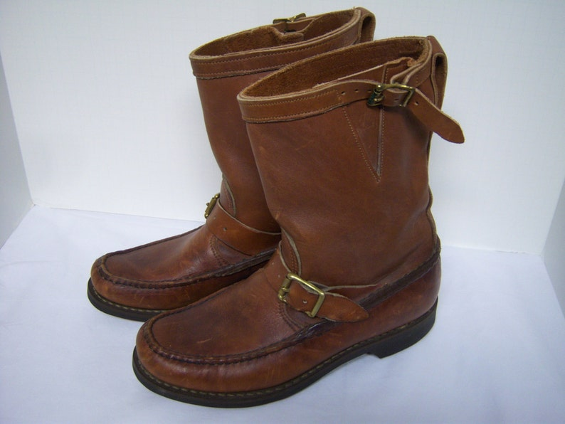 Orvis Boots Gokey Pull On Boots Vintage Leather Boots