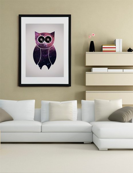 Owl Night Long, Fine Art Print by Philip Skundric