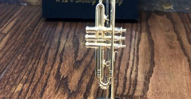 Personalized Miniature Trumpet  Music gift  Instrument
