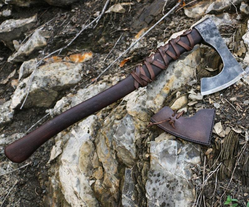 RAGNAR Viking Axe Warrior Berserker Norse Cold Weapon Asatru