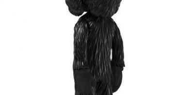 Sculpture BFF BLACK by KAWS