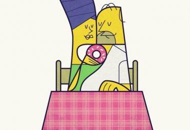 Simpson 2 Print by Ale Giorgini