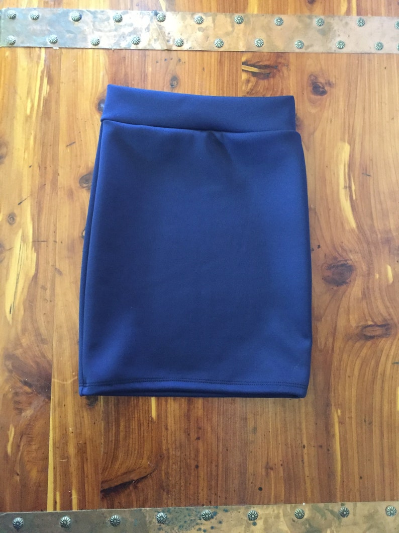 Solid Colors  Girls and Toddlers Knit Pencil Skirt Girls