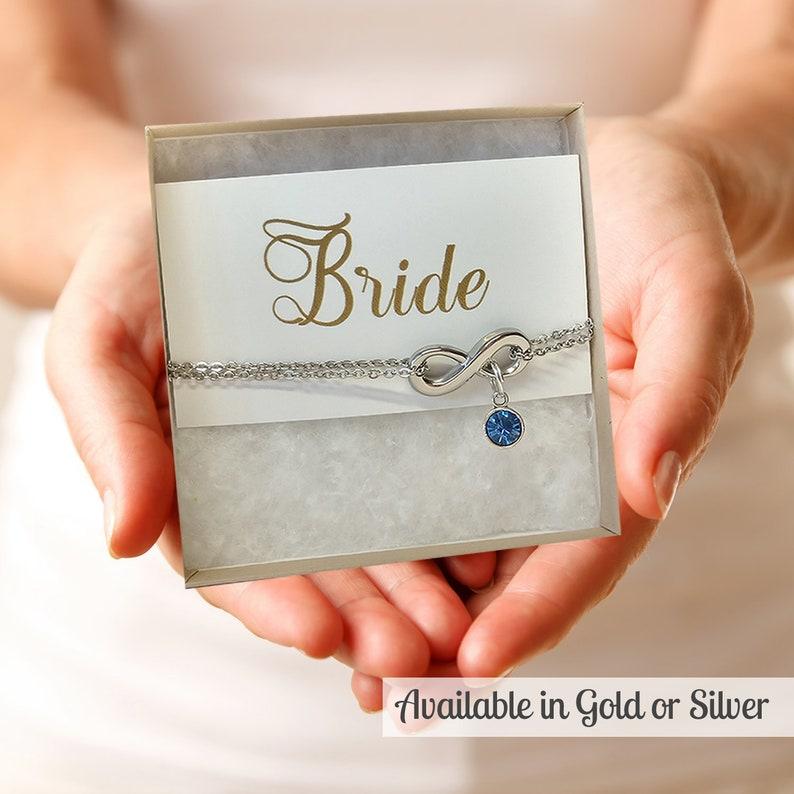 Something Blue Anklet Wedding Something Blue Jewelry Bride