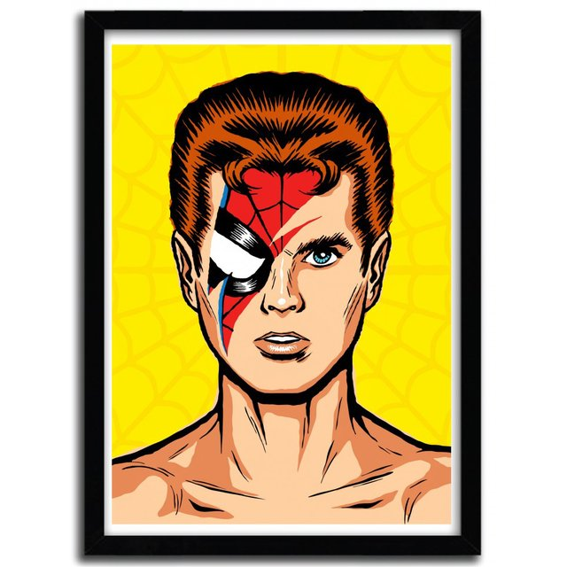 Spiders From Mars Print by Butcher Billy