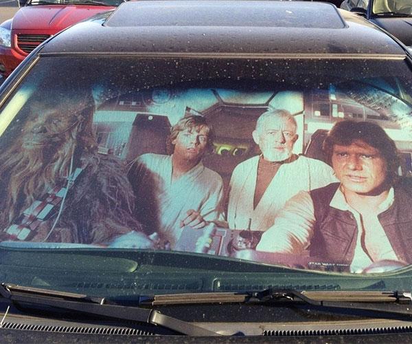 Star Wars Sun Reflector