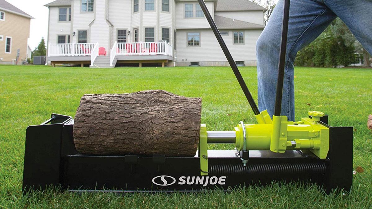 Sun Joe 10-Ton Hydraulic Log Splitter