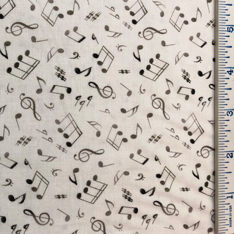 Teacher Musician Music Student Fabric for Face Masks By the