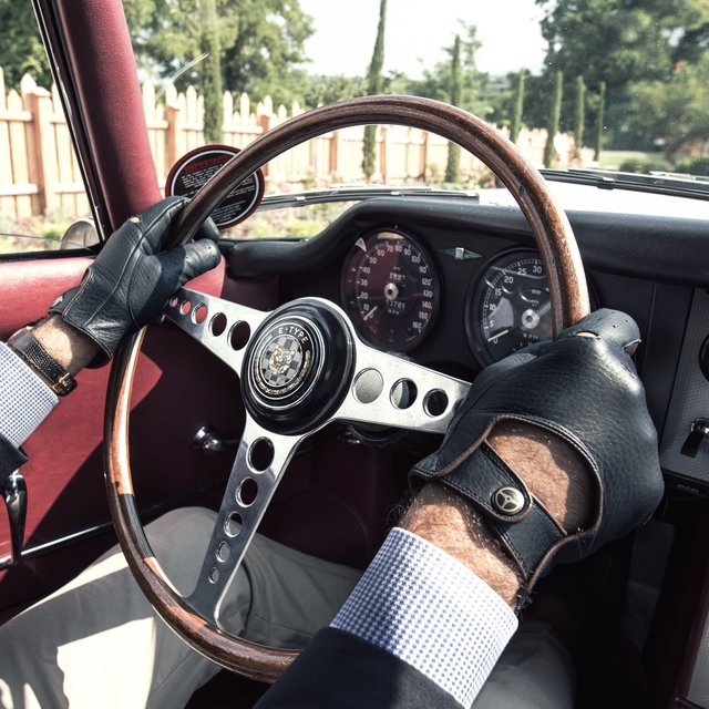 The Deep Blue Top Gear Gloves