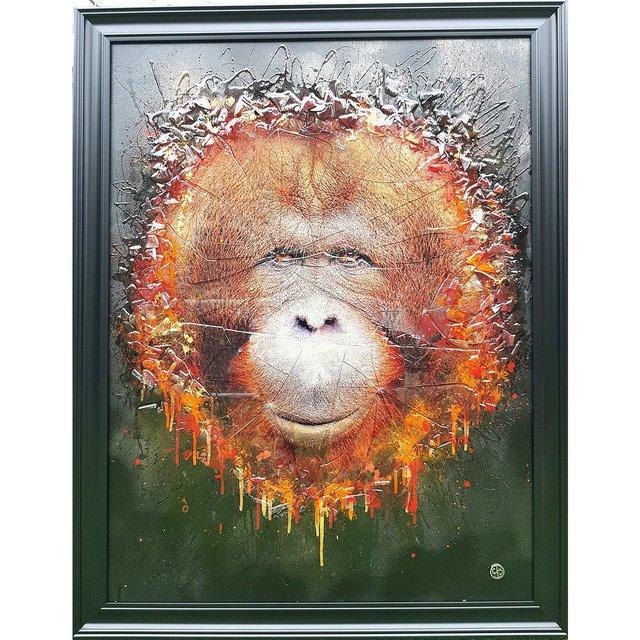 The Sumatran Orangutan Art Piece