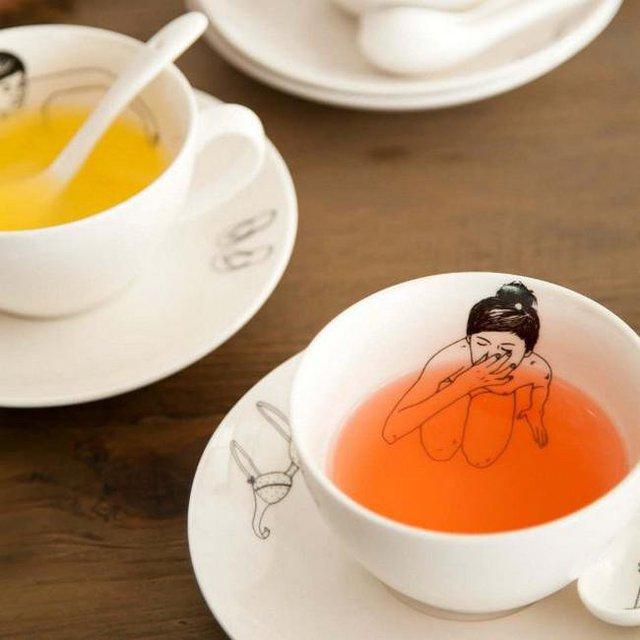 Undressed Tea Set of 4