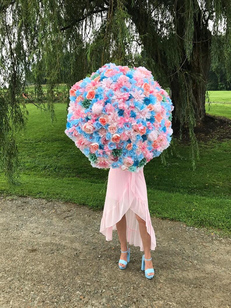 Wedding Umbrella / Floral Bridal Parasol for Brides