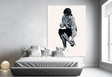 Annie, Giant Canvas Print by Gill Alexander, 54 x 72 inches