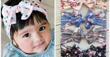 Baby Headbands Baby Head wrapsNylon Baby headbands nylon