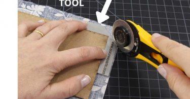 Bookbinding miter tool Corner miter tool  Cartonnage tool