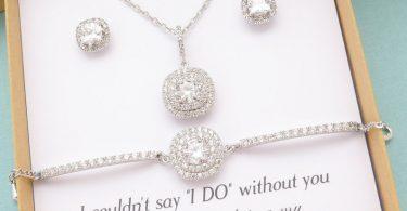 Bridesmaid Jewelry Bridesmaid Gift Bridesmaid Jewelry Set