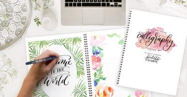 Calligraphy Starter Kit Printable Wisdom learn Calligraphy