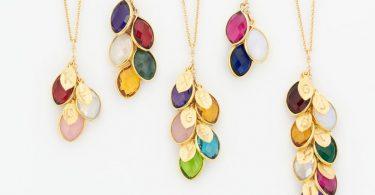 Christmas Gift for Mom  Custom Birthstone Necklace for Mom
