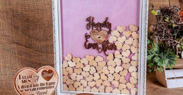 Drop Box Wedding Guest Book Wedding Guest Book Alternative