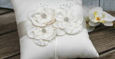 FAST SHIPPING Ring Pillow Ivory Ring Pillow Off White Ring