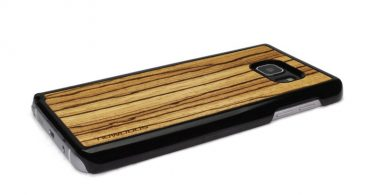 For Samsung Galaxy Note 5 Case Wood Zebrawood Note 5 Case