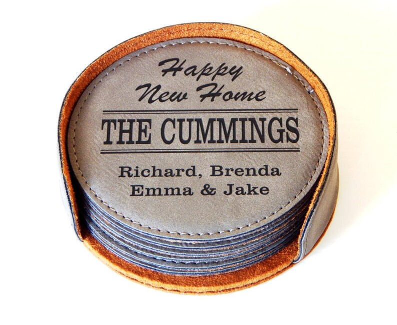 Home Warming Gift for New First House  Personalized Family