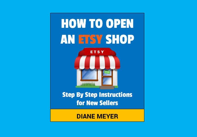 How to open a shop How to open a store How to sell on Etsy