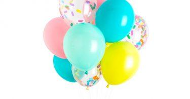 Ice Cream Balloons Ice Cream Party Decorations Sprinkle