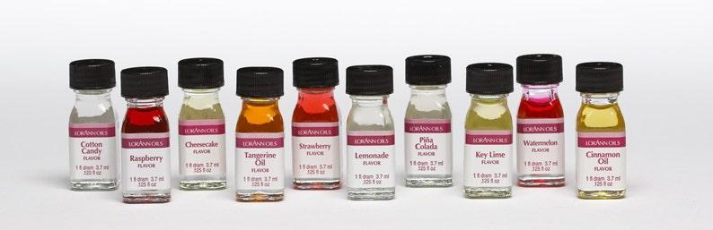 Lorann Oils Super Strength Flavors  1 Dram Size