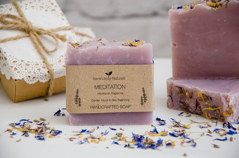 MEDITATION All Natural Handmade Soap for All Skin Types