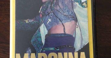 Madonna The Virgin Tour VHS  Video Hard Shell Movie