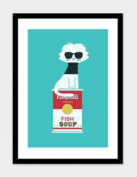 """""""Mark-the Cat Who Loves Andy"""" – Numbered Art Print by Budi Satria Kwan from Curioos"""