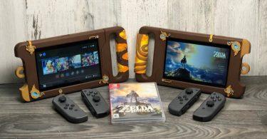 Nintendo Switch Sheikah Slate Case 3d Print Breath of the Wild