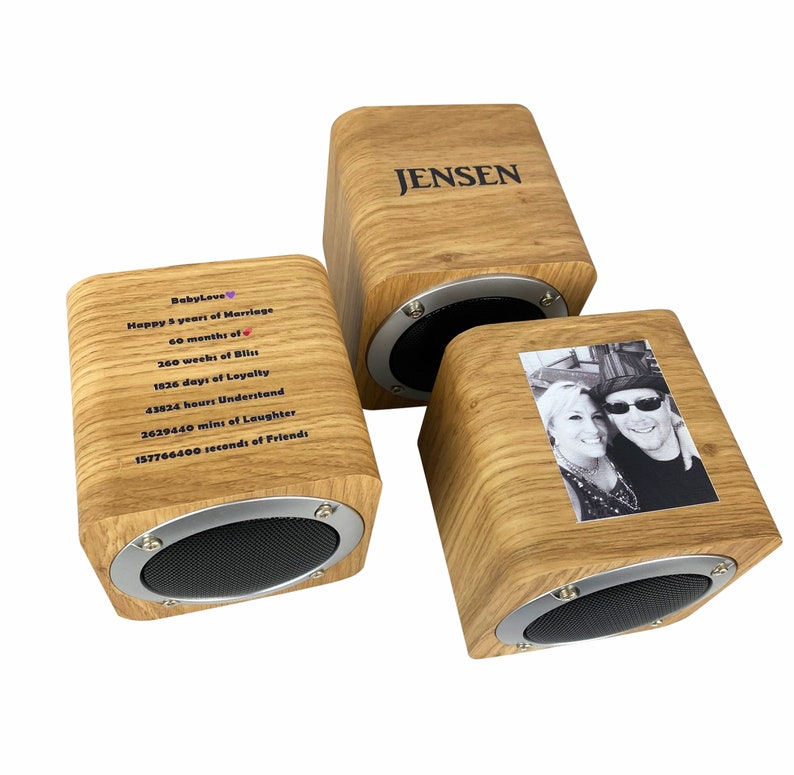 Personalized Wireless Bluetooth Speaker  Customized and