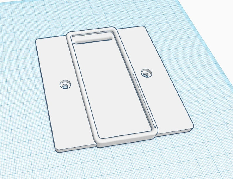 Philips HUE Dimmer UK Contemporary Mounting Plate
