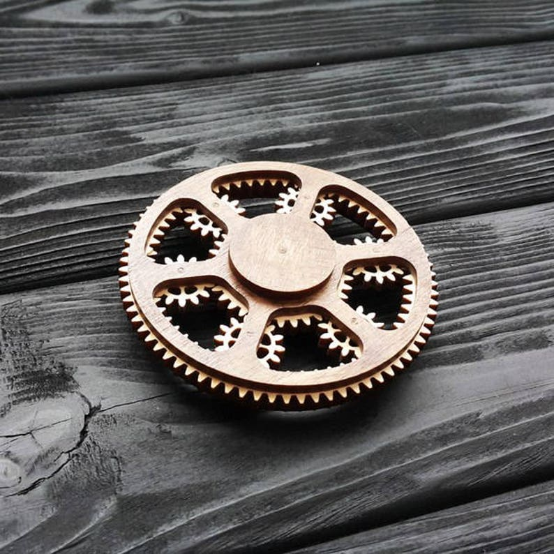 Planetary Gear Fidget Spinner Plans for Laser CNC Cutting