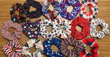 Scrunchies  Americana/USA/4th of July