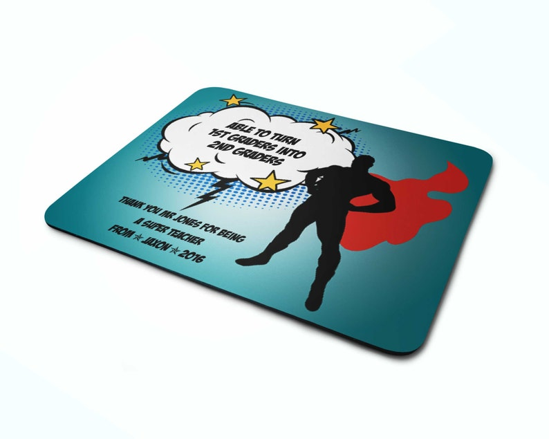 Teacher mousepad Personalised gift mouse mat mouse pad