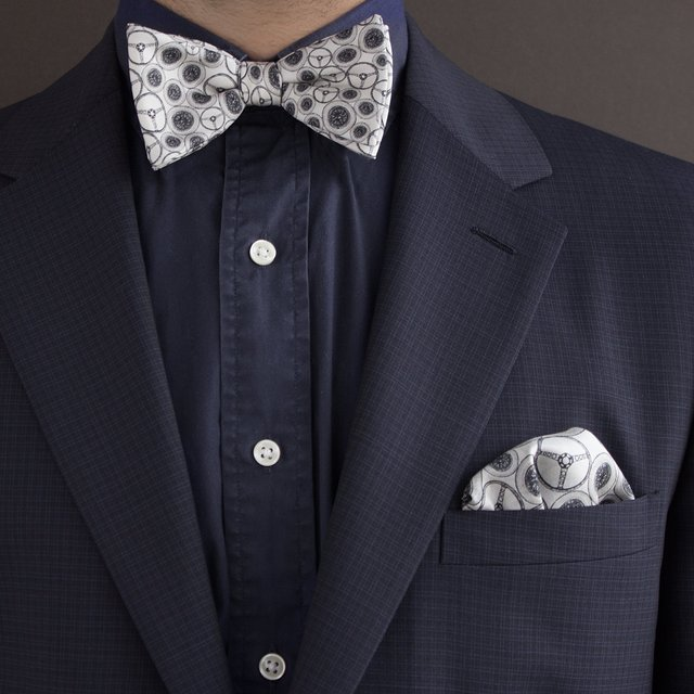 The Ivory World Beater Bow Tie