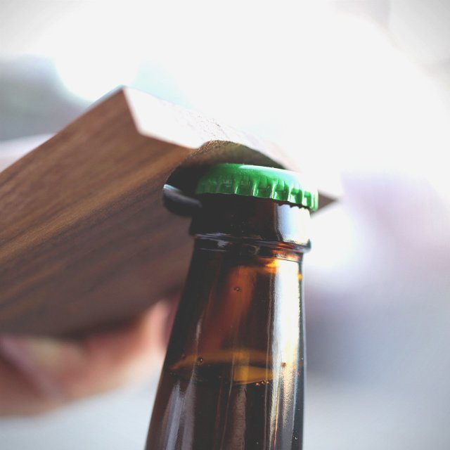 Two-in-One Beer Opening Coasters