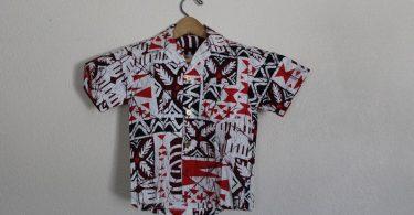 Vintage Kids Hawaiian Shirt / Boys Vintage Hawaiian Shirt /