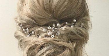 Wedding Hair Piece Pearl Wedding Hair Vine Bridal Hair Piece