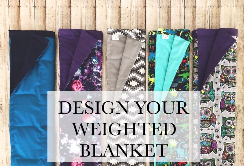 Weighted Blanket  Custom Weighted Blanket Design Your