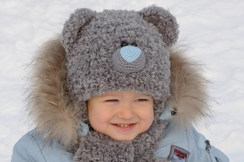 Winter Kids Hats kids bear costume Baby Bear Hat Teddy Bear